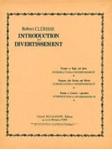 Introduction Et Divertissement - Robert Clérisse - laflutedepan.com