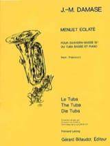 Menuet Eclaté - Jean-Michel Damase - Partition - laflutedepan.com