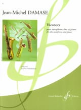 Jean-Michel Damase - Holidays - Sheet Music - di-arezzo.com