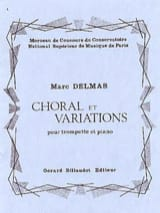 Marc Delmas - Choral And Variations - Sheet Music - di-arezzo.com