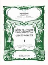 Pièces Classiques Volume 2 Partition Marimba - laflutedepan.com