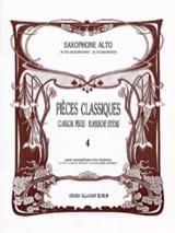 Pièces Classiques Volume 4 Partition Saxophone - laflutedepan.com