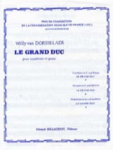 Le Grand Duc Dorsselaer Willy Van Partition Trombone - laflutedepan