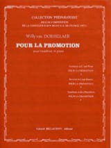 Dorsselaer Willy Van - For the Promotion - Sheet Music - di-arezzo.com