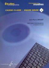 3-18 Etudes progressives - Etudes contemporaines caisse claire 3 - laflutedepan.com