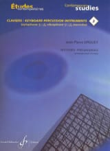 Jean-Pierre Drouet - 18 Progressive Studies - Contemporary Keyboard Studies 3 - Sheet Music - di-arezzo.co.uk