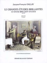 Jacques-François Gallay - 12 Great Bright Studies - Opus 43 - Sheet Music - di-arezzo.com