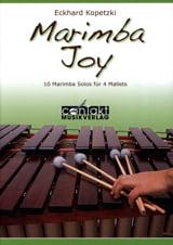 Eckhard Kopetzki - Marimba Joy - Volume 1 - Partition - di-arezzo.fr