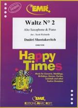 Valse n° 2 tiré de la Suite pour orchestre de variété n° 1 laflutedepan.com