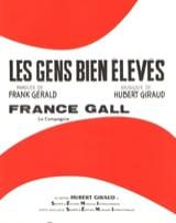 Hubert Giraud - Les Gens Bien Elevés - Partition - di-arezzo.fr