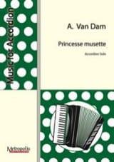 Princesse Musette Albert Van Dam Partition laflutedepan.com