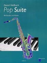 Pop Suite Daniel Hellbach Partition Saxophone - laflutedepan.com