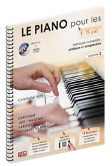 Christophe Astié - The PIANO for 9-15 years old ... - Volume 2 - Sheet Music - di-arezzo.co.uk