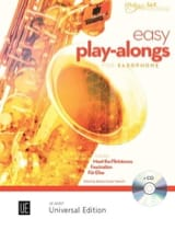 Easy Play-Alongs for saxophone and piano Partition laflutedepan.com