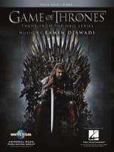 Game of Thrones - Thème de la Serie TV Partition Alto - laflutedepan