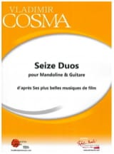 Vladimir Cosma - Sixteen Duos for Mandolin and Guitar - Sheet Music - di-arezzo.com