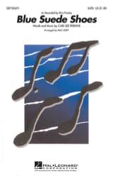 Blue Suede Shoes Elvis Presley Partition Chœur - laflutedepan