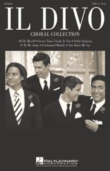 Il Divo - Choral Collection Il Divo Partition Chœur - laflutedepan