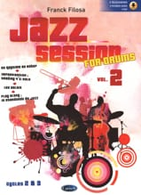 Franck Filosa - Jazz Session For Drums - Volume 2 - Sheet Music - di-arezzo.com