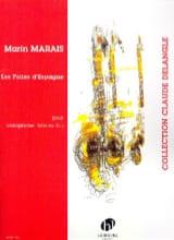 Folies d'Espagne Marin Marais Partition Saxophone - laflutedepan.com