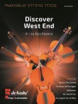 Discover West End - Flexible String Trios Partition laflutedepan