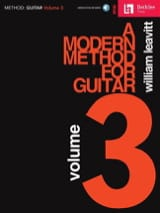 William Leavitt G. - A Modern Method For Guitar - Volume 3 - Sheet Music - di-arezzo.com