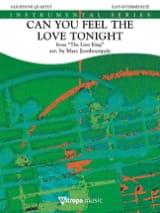 Can You Feel the Love Tonight, The Lion King - Quatuor de Saxophones laflutedepan.com