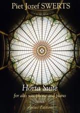 Horta Suite Piet Swerts Partition Saxophone - laflutedepan