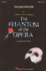 Andrew Lloyd Webber - Masquerade from The Phantom of the Opera - Sheet Music - di-arezzo.co.uk