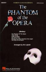 Andrew Lloyd Webber - The Phantom of the Opera - Medley - Sheet Music - di-arezzo.co.uk