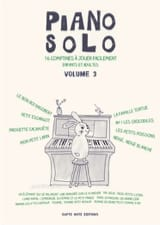 - Piano Solo Volume 3 - 16 Rhymes - Sheet Music - di-arezzo.co.uk