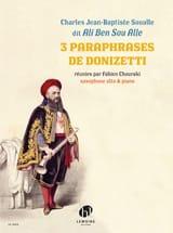 Ali Ben Sou Alle (Charles Jean-Baptiste Soualle) - 3 Paraphrases de Donizetti - Partition - di-arezzo.fr
