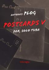 Postcards V Anthony Plog Partition Tuba - laflutedepan
