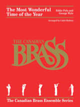 Canadian Brass - The Most Wonderful Time Of The Year - Brass Quintet - Sheet Music - di-arezzo.co.uk