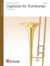 Pascal Proust - Capriccio for Trombones - Sheet Music - di-arezzo.co.uk
