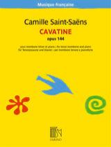 Camille Saint-Saëns - Cavatine, Opus 144 - Sheet Music - di-arezzo.co.uk