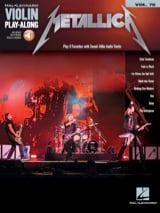 Violin Play-Along Volume 70 - Metallica Metallica laflutedepan