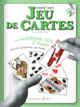 Jeu de cartes - Volume 2 Vincent David Partition laflutedepan