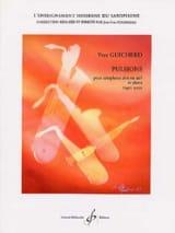 Pulsions - Yves Guicherd - Partition - Saxophone - laflutedepan.com