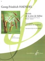 Georg Friedrich Haendel - Arrivee de la reine de sabbat - Partition - di-arezzo.fr