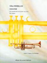 Gilles Herbillon - Sonatine - Partition - di-arezzo.fr