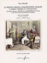 Eric Hulin - 21 Small Easy Concertante Rooms Volume 1 - Sheet Music - di-arezzo.com