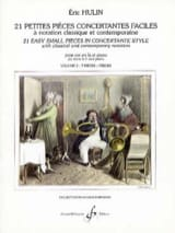 Eric Hulin - 21 Small Easy Concertante Rooms Volume 2 - Sheet Music - di-arezzo.com
