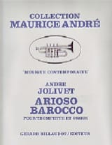 André Jolivet - Arioso Barocco - Sheet Music - di-arezzo.co.uk