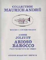 André Jolivet - アリオソバロッコ - 楽譜 - di-arezzo.jp