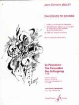Dialogues de Sourds Jean-Clément Jollet Partition laflutedepan.com