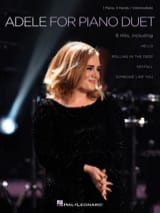 Adele for Piano Duet (Piano 4 Mains) Adele Partition laflutedepan.com