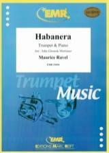 Habanera Maurice Ravel Partition Trompette - laflutedepan.com