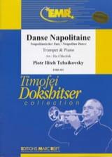 Danse Napolitaine Piotr Igor Tchaikovski Partition laflutedepan.com
