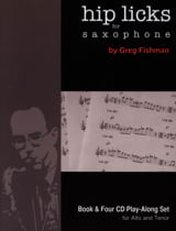 Hip Licks for Saxophone avec 4 CDs METHODE AEBERSOLD laflutedepan.com
